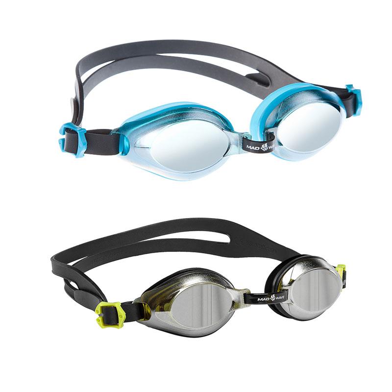 Очки для плавания тренировочные Mad Wave Aqua Mirror