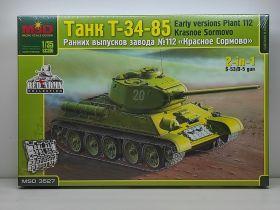 MQ3527 Танк Т-34/85 ранняя версия завода 112