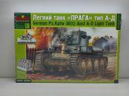 MQ3542 Немецкий танк PzBfwg 38t (Прага) Ausf A-D