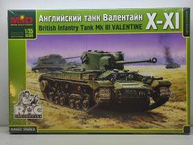 MQ3553 Ангийский танк Valentine XI