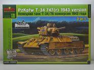 MQ3580 Немецкая модификация Т-34/76 позднего выпуска