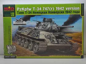 MQ3581 Немецкая модификация Т-34 1942 г.