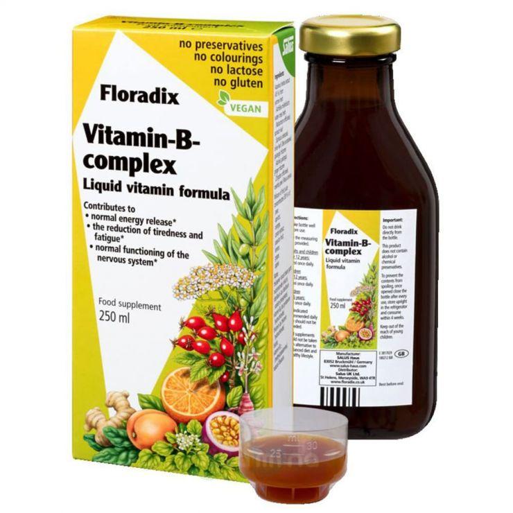 Флорадикс Витамин В-Комплекс, 250 мл