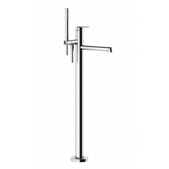 Смеситель для ванны напольный Gessi Ingranaggio 63528 ФОТО