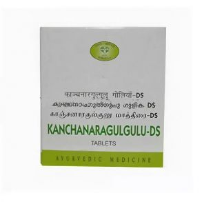 Канчанар Гуггул ДС AVN , Kanchanara Gulgulu DS 100 таб - для лимфатической системы