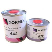 NORMEX 2К HS Прозрачный лак 444 1 л (комплект).