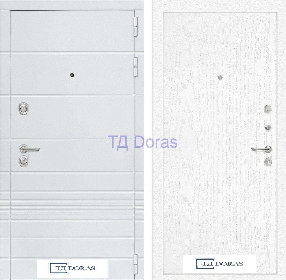 Входная дверь Трендо 07 - Белое дерево