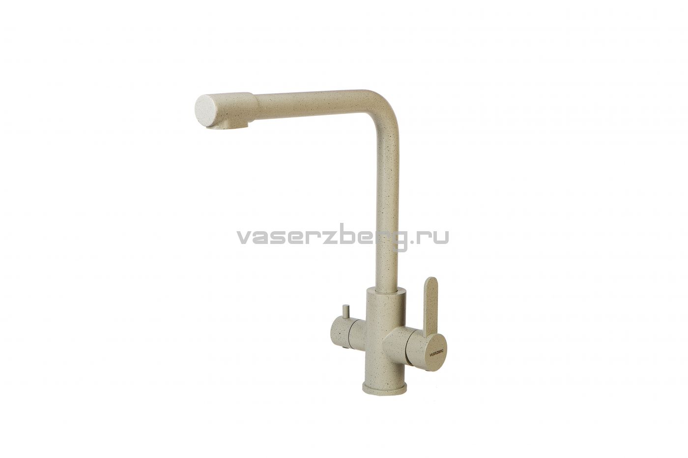 Vaserzberg SUS1764 Песочный Смеситель для кухни с подключением фильтра