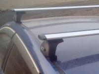 Багажник на крышу Mazda 6 (GH) 2007-13, Евродеталь, крыловидные дуги