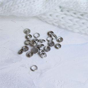 Кнопки рубашечные закрытые - Металлические 9.5 мм