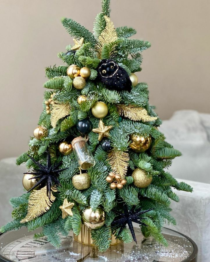 Новогодние ёлочки (средний размер)