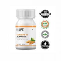 Куркумин 95 (куркумин + пиперин)  в капсулах Инлайф | INLIFE Curcumin 95 Advanced Turmeric Supplement