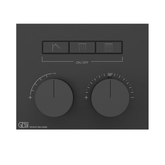 Смеситель для ванны c душем Gessi Hi-Fi 63006 ФОТО