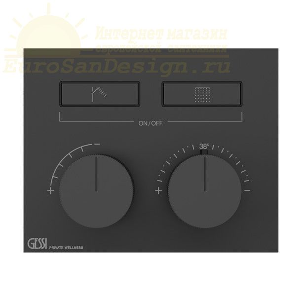 Смеситель для ванны c душем Gessi Hi-Fi 63004 ФОТО