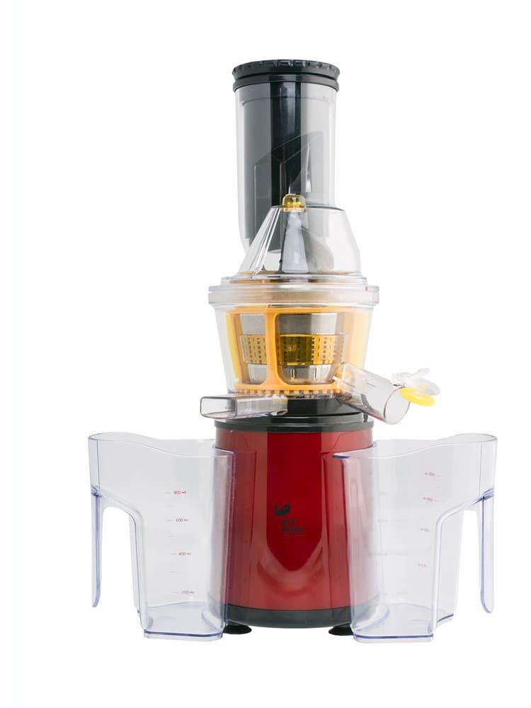 Шнековая соковыжималка KitFort KT-1102-2 бордовая