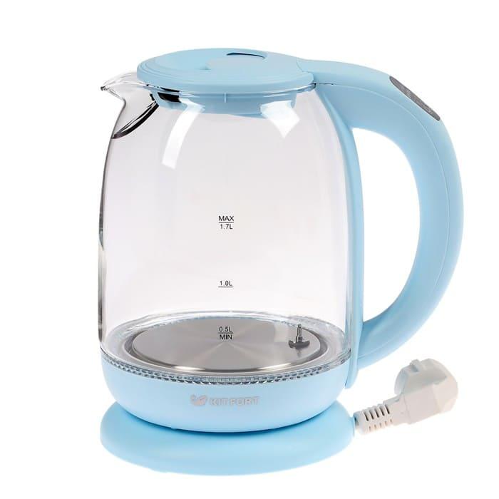Чайник KitFort KT-640-1 голубой