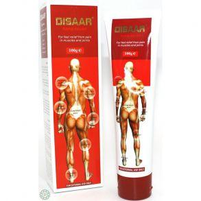 Массажный крем «Disaar rapid relief» для быстрого облегчения и снятия боли в мышцах и суставах, 100гр