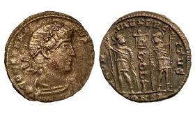 Римская монета Фоллис 1-2 век ОРИГИНАЛ Римская Империя
