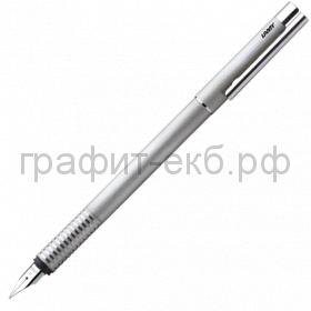 Ручка перьевая Lamy Logo матовая стальная M 006