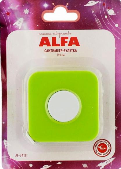 Сантиметр-рулетка Alfa (150 cм)