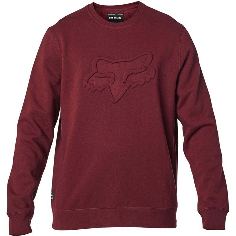 Fox Refract DWR Crew Fleece Pullover Cranberry толстовка
