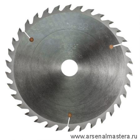Пильный диск тонкий пропил D 250 x 30 x 2,3 Z 80 торцевой рез DIMAR 90131606