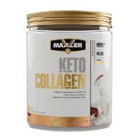 Maxler Keto Collagen Коллаген и масло MCT, 400 гр (Вкус: Кокос)