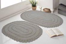 Комплект ковриков для ванной YANA 60x100 + 50x70 (мокко) Арт.5026-5