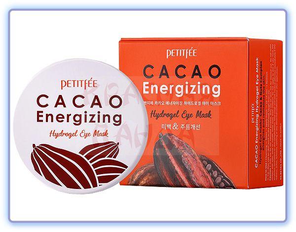 Гидрогелевые патчи для кожи вокруг глаз Petitfee Cacao Energizing Hydrogel Eye Mask