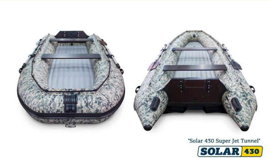 Лодка НДНД SOLAR-470 Super Jet tunnel