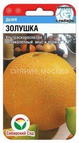 Дыня Золушка (Сибирский Сад)
