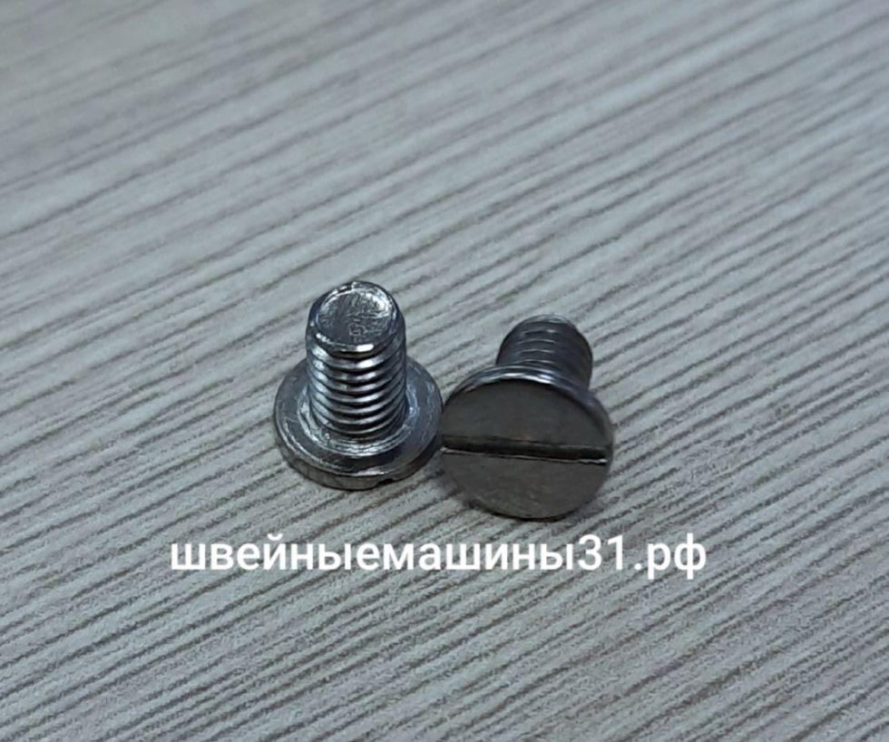 Винт крепления игольной пластины Leader VS 325D.    Цена 100 руб/шт