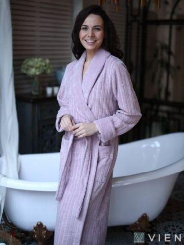 Женский бамбуковый халат Sharliz лила