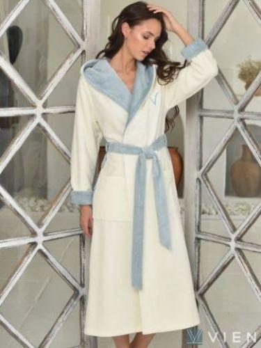 Женский бамбуковый халат Arianna ниагара