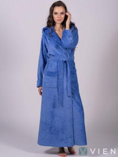 Женский бамбуковый халат Jessamina фиалка