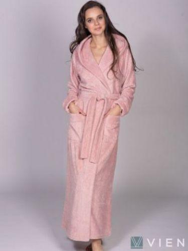 Женский бамбуковый халат Jessamina пудра
