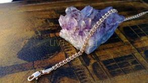 """Позолоченный браслет, плетение """"love"""", 4 мм (арт. 2503001)"""