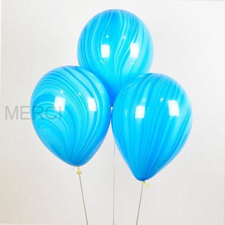 Шар Супер Агат, Blue