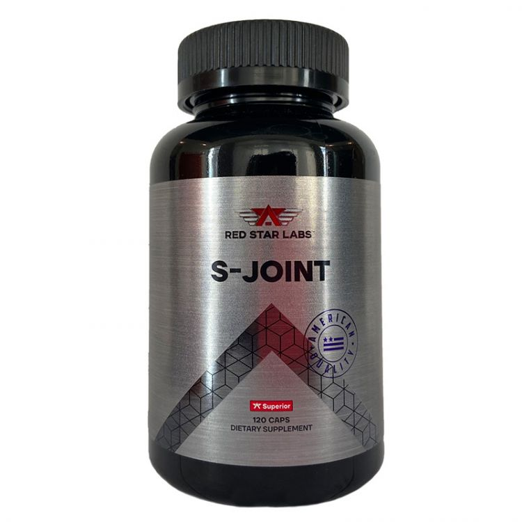 Red Star Labs S-Joint (Glucosamine & Chondroitin + MSM) 120 кап