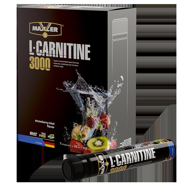 Maxler L-Carnitine 3000 мг 7 шт x25 ml