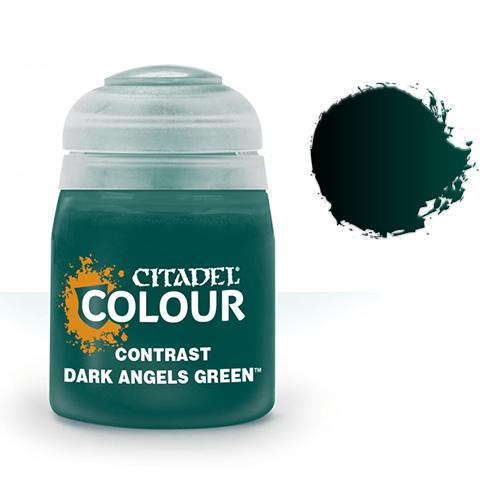 Контрастная краска Dark Angels Green 29-20