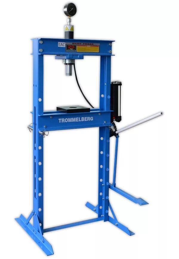 Пресс напольный на 20 т. с манометром Trommelberg SD200805C