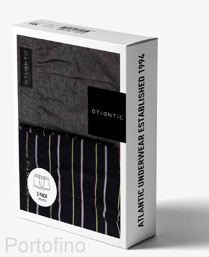 2MH-069 трусы мужские шорты Shorts stripes - набор 2 шт.