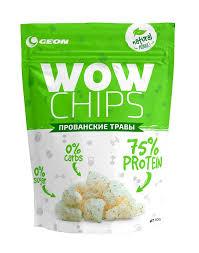 GEON WOW Protein Chips 30 грамм