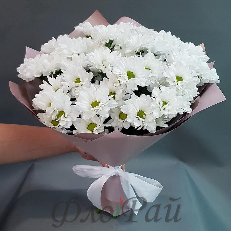 Букет хризантем Баккарди