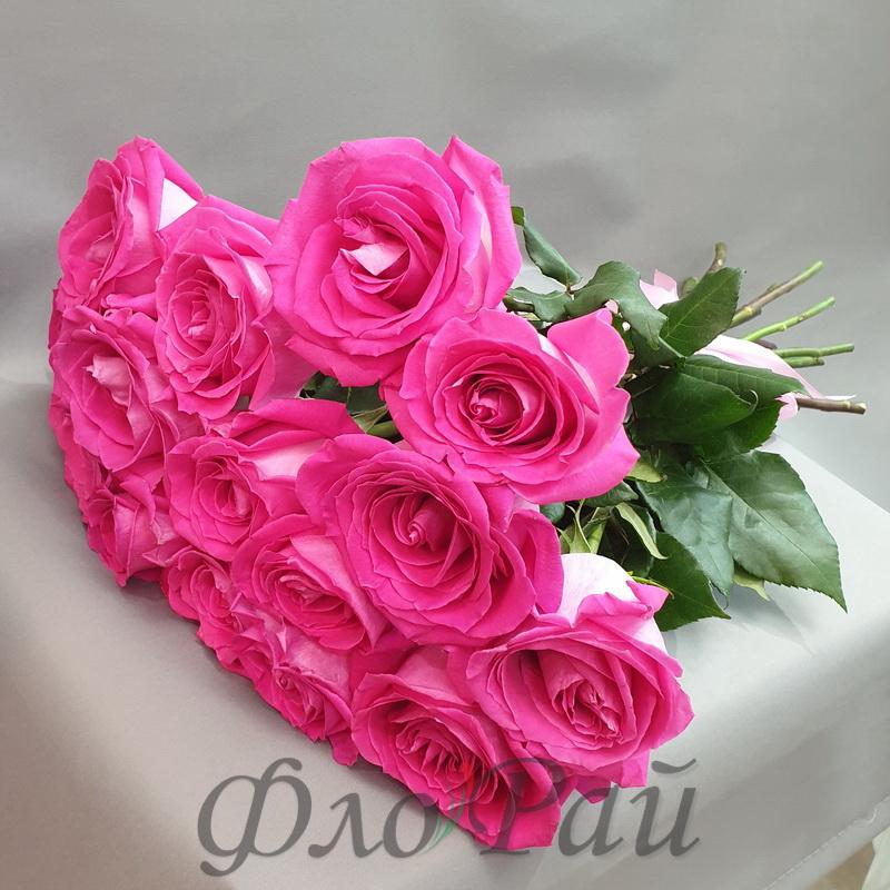 15 цветных роз