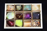 Коллекция минералов и горных пород (12 образцов)