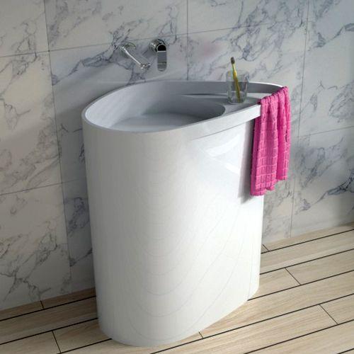 Раковина напольная NS Bath NSF-8572