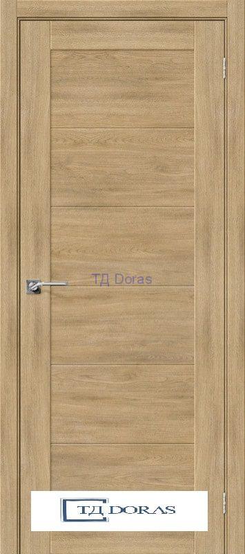 Межкомнатная дверь с экошпоном Легно-21 Organic Oak