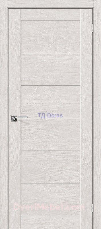 Межкомнатная дверь с экошпоном Легно-21 Chalet Blanc